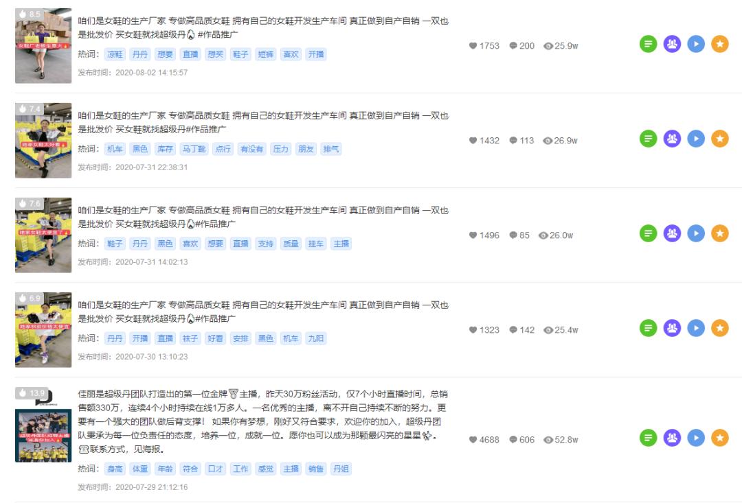 △飞瓜快手-主播视频
